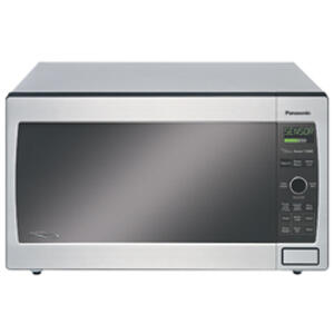 Family-Size 1.2 cu. ft. Microwave Oven with 1300 Watt High Power and Easy-to-Use Pop-Out Dial, Stainless