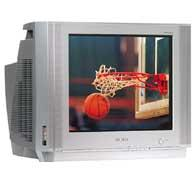 """20"""" Deluxe Featured DynaFlat™ TV with DVD Component Input"""