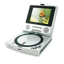 "5"" TFT PORTABLE DVD PLAYER with SWIVEL SCREEN"
