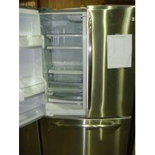 "42"" STAINLESS SIDE-BY_SIDE, CURVED HANDLES, INTERNAL ICE"