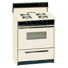 See Details - SUMMIT STM1307KW is a 20 inch deluxe gas range with electronic ignition, clock with timer, see-through oven door with oven light and large oven and a lower broiler compartment. Made in USA.