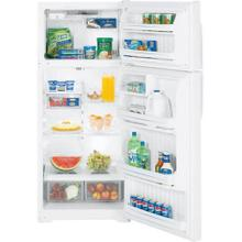 GE® ENERGY STAR® 18.1 Cu. Ft. Top-Freezer Refrigerator White 28 wide x 67 tall
