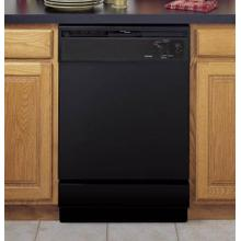 "Hotpoint® Built-In Dishwasher 24"" Black"