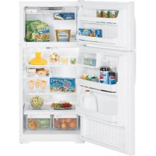 GE® ENERGY STAR® 16.5 Cu. Ft. Top-Freezer Refrigerator White