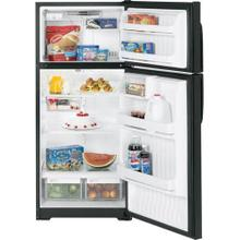 GE® ENERGY STAR® 16.5 Cu. Ft. Top-Freezer Refrigerator Black