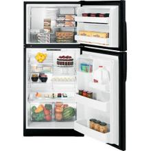 GE® ENERGY STAR® 18.0 Cu. Ft. Top-Freezer Refrigerator Black
