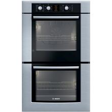 "30"" SS Double Electric Wall Oven with Genuine European Convection"