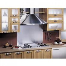 "Best 30"" Black Wall Mount Chimney Hood with 400 CFM Internal Blower"