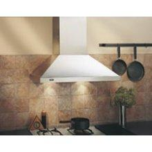 "Best 30"" SS Wall Mount Chimney Hood with 500 CFM Internal"