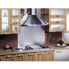 "Best 36"" SS Wall Mount Chimney Hood with 400 CFM Internal Blower"