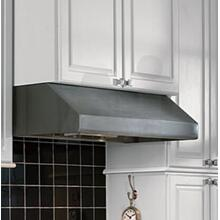 "Vent-A-Hood 36"" SS Under Cabinet Range Hood with Inline Blower"