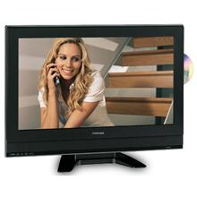 "23"" Diagonal LCD Television with Built-in DVD Player"