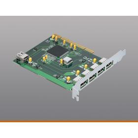 USB / FireWire ® : USB 2.0 Bus Port PCI Card (5 port) for desktop PCs