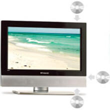 "26"" HD LCD TV/DVD Combo with ATSC Tuner"
