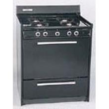 See Details - SUMMIT TEM210 is a 30 inch all-electric (220V) range with large deep oven and drop down storage beneath oven in black finish. Made in USA