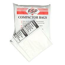 18 inch Bulk White Plastic Compactor Bags(Compactor & Disposer)