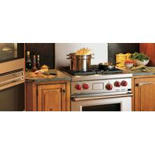 See Details - 30-Inch Self-Cleaning Freestanding Gas Range