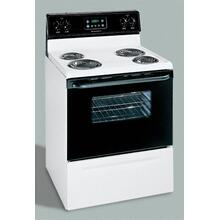 Product Image - Electric Coil Range w/ Manual Clean Oven