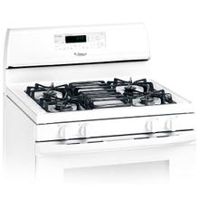 See Details - White-on-White 30-Inch Whirlpool Gold® Self-Cleaning Freestanding Gas Range