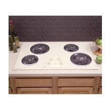 "GE 36"" Almond Porcelain-Enameled Lift-Up Cooktop"