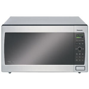 Luxury Full-Size 2.2 cu. ft. Microwave Oven with 1250 Watt High Power and Easy-to-Use Pop-Out Dial, Stainless