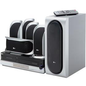 1200 Watt 5 Disc CD/DVD Player & VCR Home Theater in a Box