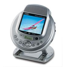 "3.5"" TFT PORTABLE DVD/CD/MP3 PLAYER WITH BUILT-IN STEREO SPEAKERS"