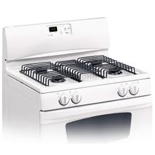 See Details - White-on-White 30-Inch Standard Clean Freestanding Gas Range