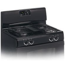 See Details - Black-on-Black 30-Inch Standard Clean Freestanding Gas Range