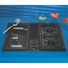 Whirlpool® 30-Inch Gas Downdraft Cooktop
