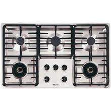 """Miele 36"""" Stainless Steel Natural Gas Cooktop"""