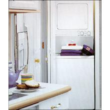 Stacked Washer/Electric Dryer