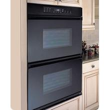 "Dacor 30"" Black Double Electric Wall Oven"