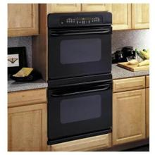 "GE 30"" Black Built-In Double Wall Oven"