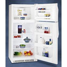 Refurbished 18 Cu. Ft. Top Freezer Refrigerator.  (This is a Stock Photo, actual unit (s) appearance may contain cosmetic blemishes.  Please call store if you would like actual pictures).  This unit carries our 6 month warranty, MANUFACTURER WARRANTY and REBATE NOT VALID with this item. ISI 44547