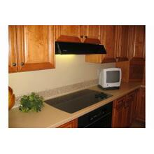 "Faber 30"" Black Under-Cabinet Tilt-Out Range Hood"