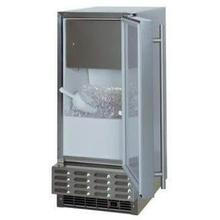 "Marvel 15"" Stainless Steel Outdoor Ice Machine"