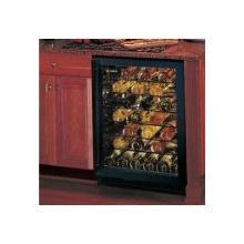 Marvel 24'' Overlay Frame Glass Door with 50-Bottle Wine Cellar