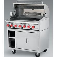 "Wolf 36"" Stainless Steel Freestanding LP BBQ Grill"