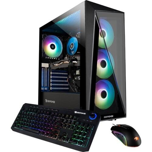 Product Image - Gaming Desktop w/ Keyboard   Mouse, Intel i5-10400F, 8 GB RAM, 1 TB HDD   240 GB SSD, NVIDIA GeForce GTX 1050Ti 4 GB