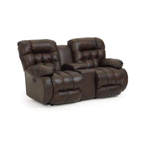 Best Home Furnishings Reclining Loveseat w/Console