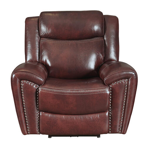 PRIME A705-403-1739, A705-203-1739, A705-003-1739G Barclay Steamboat Oxford Top Grain Leather Match Power Reclining Sofa, Power Reclining Loveseat & Power Recliner Group
