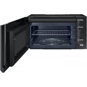 Samsung - Samsung Black Stainless Over the Range Microwave