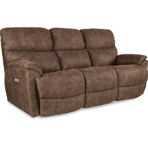 La-Z-Boy - Trouper Power Reclining Sofa w/ Headrest