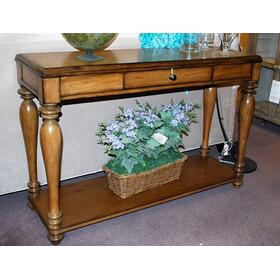 Waxy Pine Heartland Pine Console Table