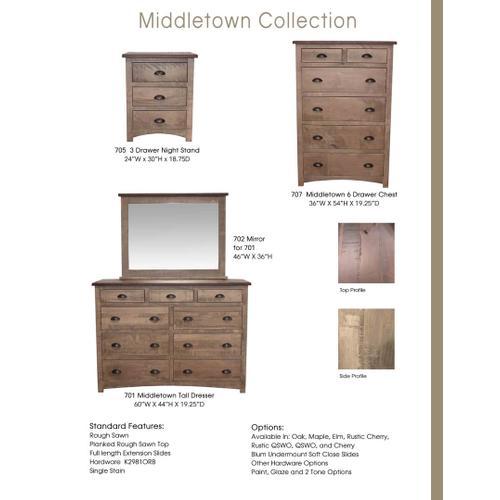 Door County Furniture - Middelton Collection