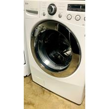 USED- 3.7 cu.ft. Large Capacity Front Load Washer with Dual LED Display- FLWAS27W-U SERIAL #127