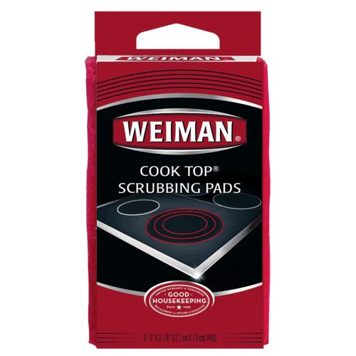 Weiman Products - Weriman Cooktop Scrubbing Pads - 2 Pack
