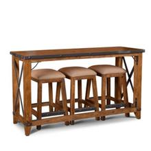 Urban Rustic Console Bar Table