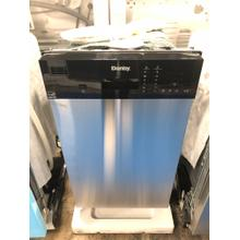 Danby 18 Stainless Built-In Dishwasher **OPEN BOX ITEM** West Des Moines Location